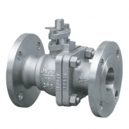 Full bore cast steel ball valve