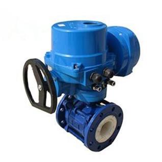 Electric actuator ceramic ball valve - Ceramic ball valve manufacturer -  China Ball valve manufacturer,factory and supplier-Ball valve