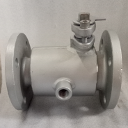 Partial half jacketed ball valve