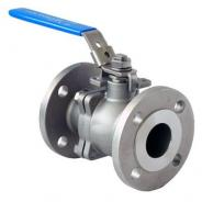 2PC Lever ball valve with locking handle