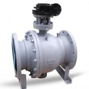 China reduced bore trunnion ball valve factory